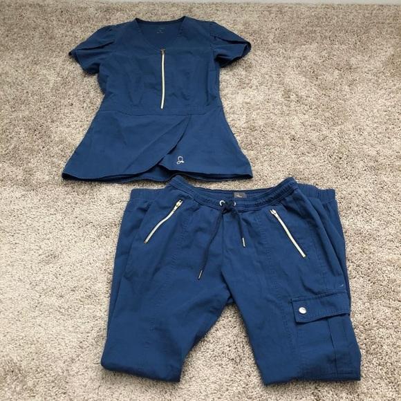 fa0bcdf1475 Jaanuu Pants - Jaanuu scrub set - tulip top jogger pants uniform